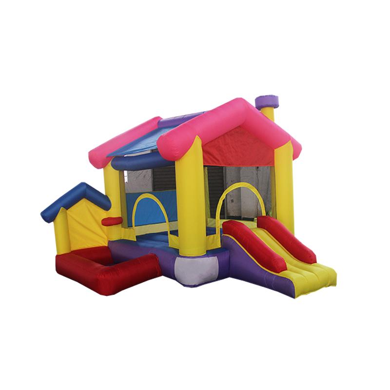 充气户外儿童玩具牛津皮跳床