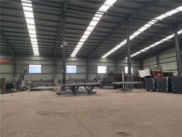 河南铁艺护栏厂区环境