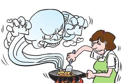 厨房油烟危害你知道多少?