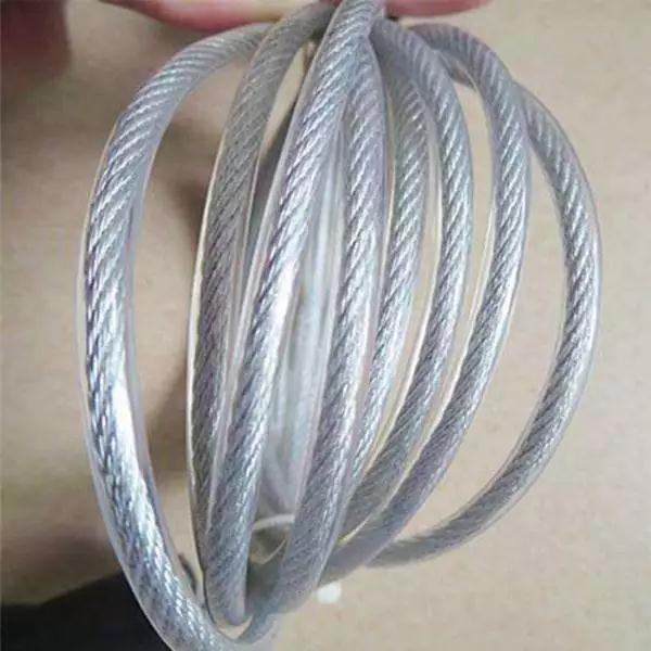 超力钢绳:四川包塑钢丝绳知识