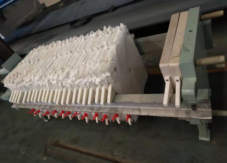 压滤机组装区域