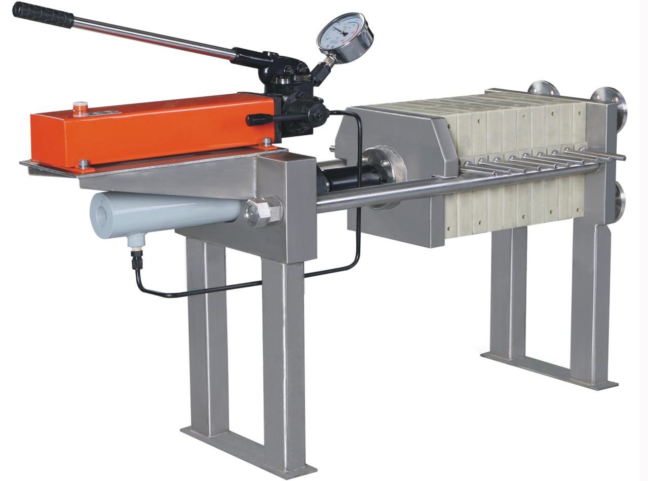成都隔膜压滤机—实验室小型隔膜压滤机