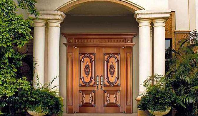 制作成都定制铜门时应如何选择铜材料?