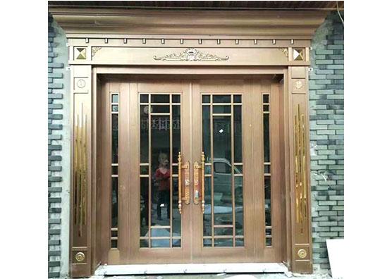 私人订制成都铜门需要注意的事项
