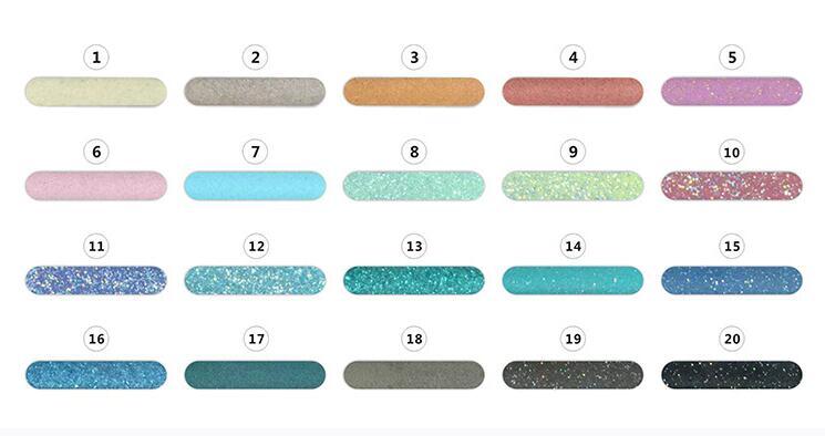 襄阳环氧填缝美缝剂色板展示