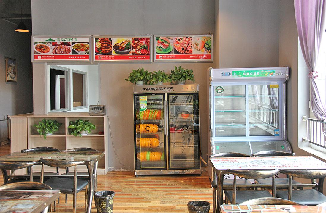 兰州圆梦艺考学校食堂和超市