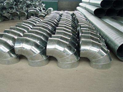 宜宾白铁皮加工(工业通风系统用风管)