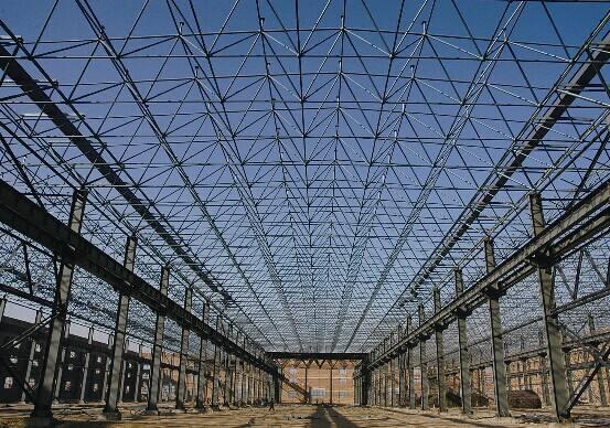 集宁钢结构网架