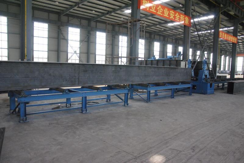 内蒙古东诚兴业钢构工程有限公司厂区环境设备图