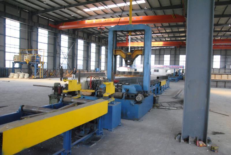 东诚钢构厂区设备