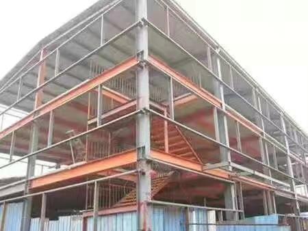 东诚兴业钢构与鄂尔多斯商城合作案例
