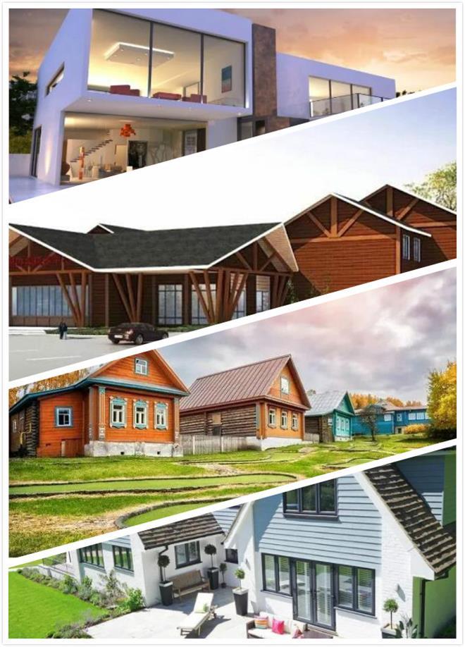 轻钢建筑的风格设计多样