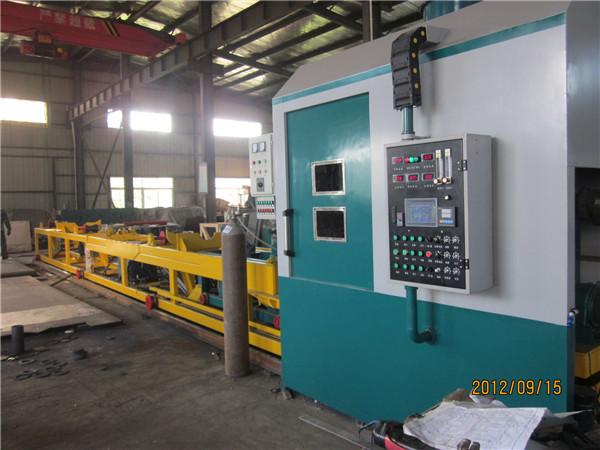 钻杆耐磨带堆焊设备带送料线及中频加热系统
