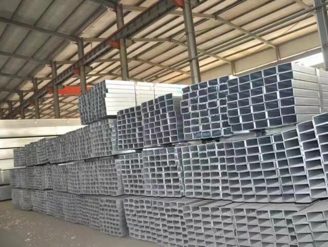 凉山钢结构厂区展示