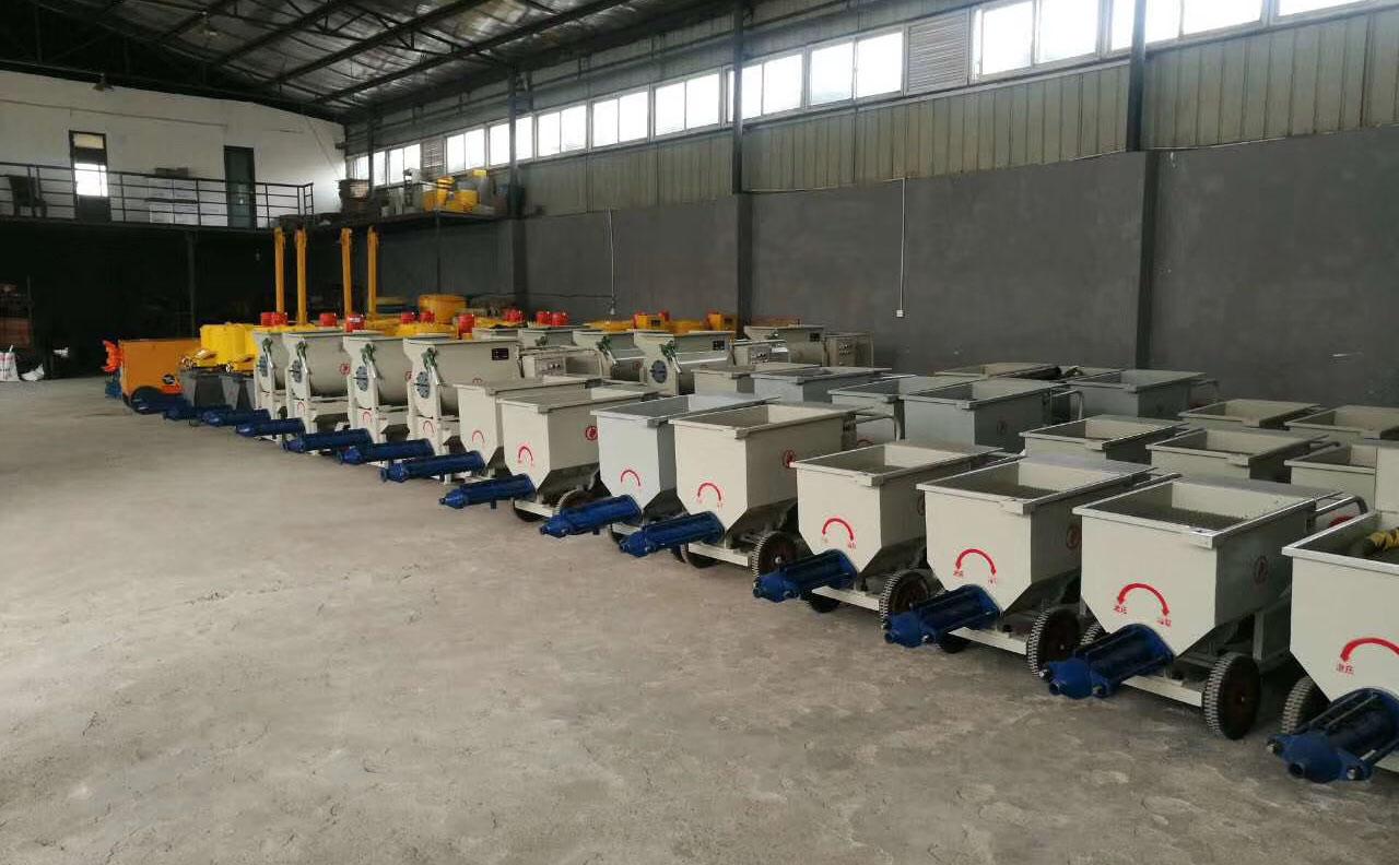成都灌浆泵工厂展示