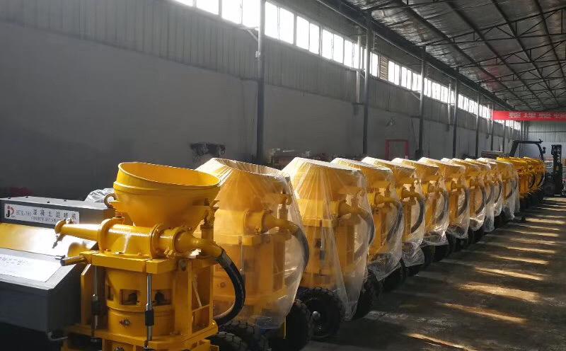 成都砂浆灌浆泵工厂展示