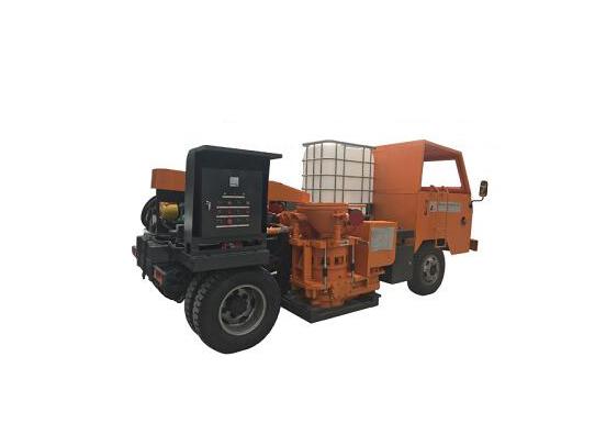 HTK700-2雙噴混凝土濕噴車