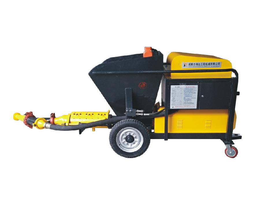 成都噴漿機-HPS600混凝土濕噴機
