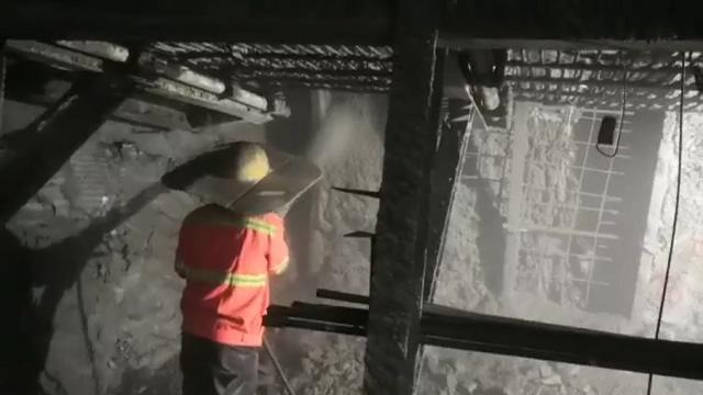 中铁十三局双榆树工地