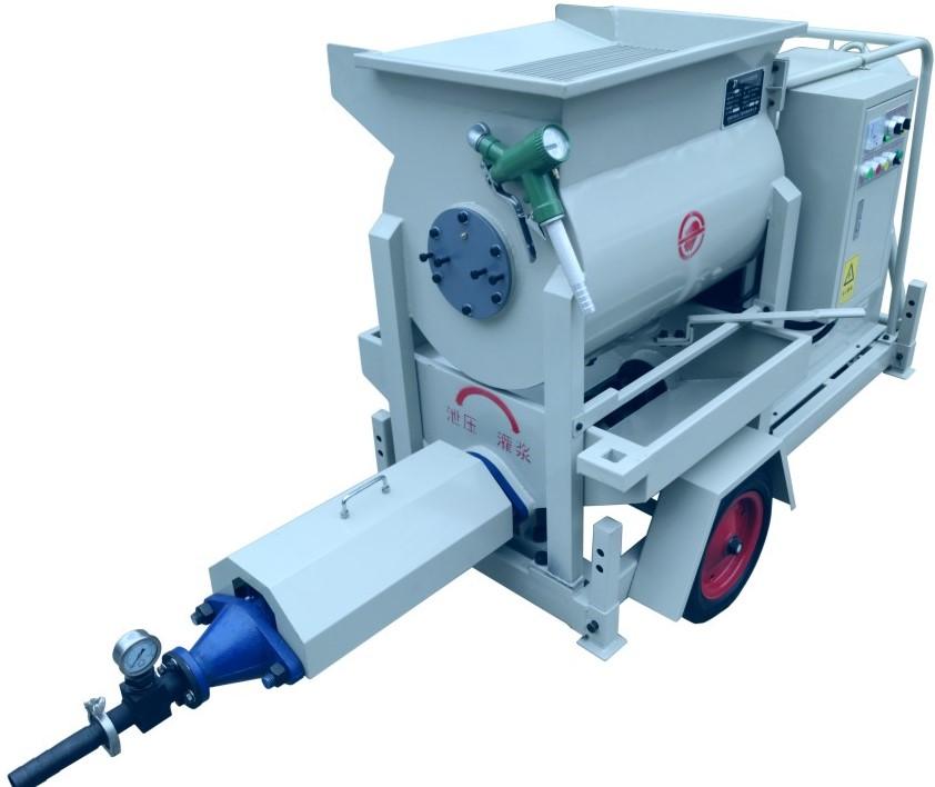 灌漿泵-JRD500B攪灌一體灌漿泵