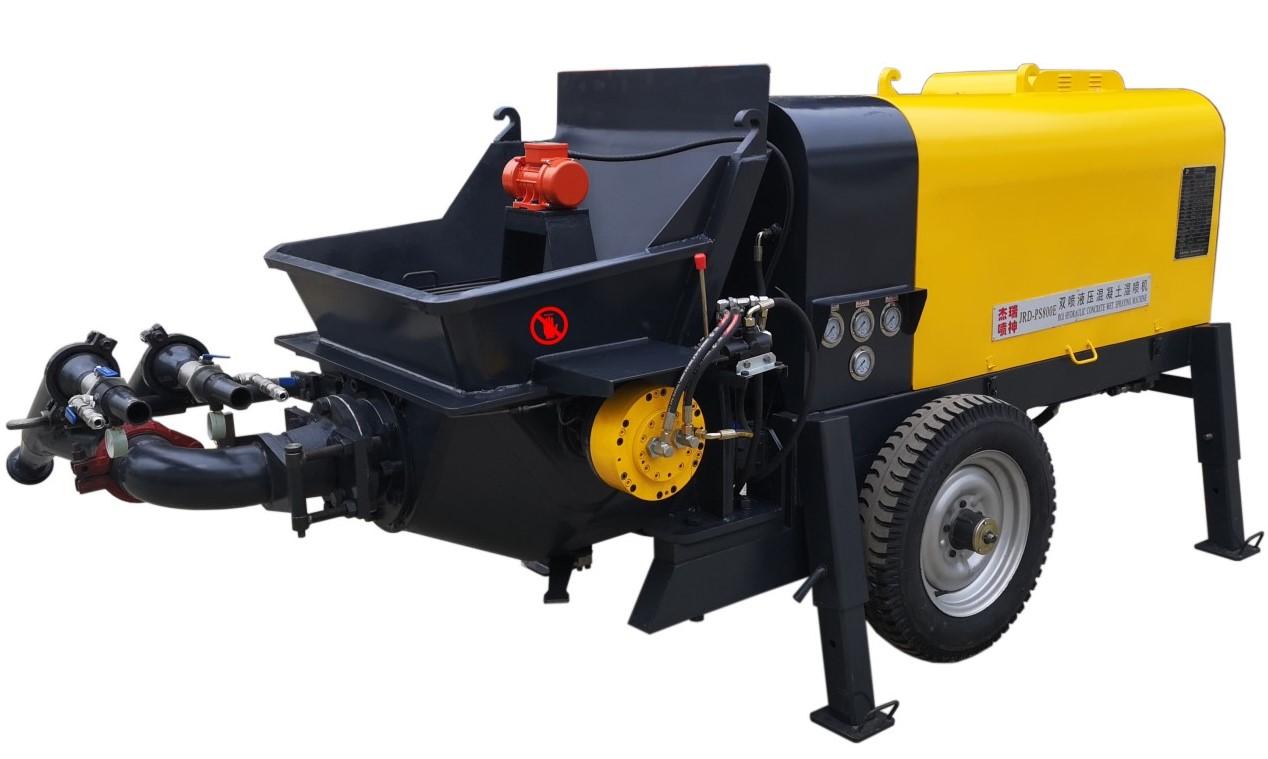 噴漿機-PS800E-2液壓雙噴混凝土噴漿機