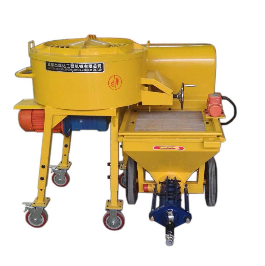 砂漿噴涂機-PS500(配套攪拌)墻面砂漿噴涂機