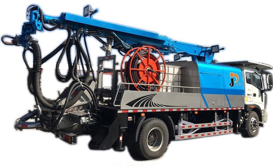 混凝土濕噴臺車-JRD-STC30(機械臂)