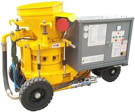 HTK系列混凝土濕噴機的操作方法