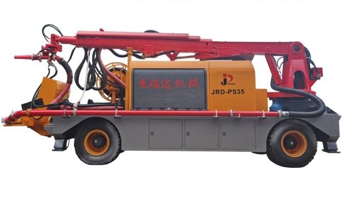 混凝土濕噴臺車-JRD-PS35(機械臂)