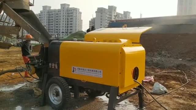 PS90液壓混凝土濕噴機