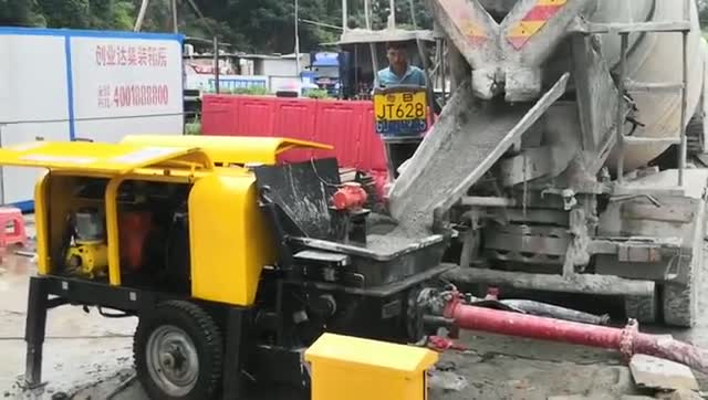 PS90液壓混凝土濕噴機(澆筑混凝土功能)