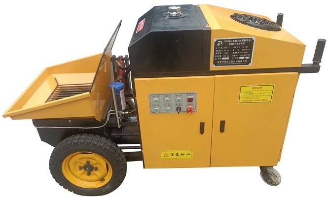 成都砂漿灌漿泵-榮耀X60型輸送泵(構造柱細石砂漿輸送泵)