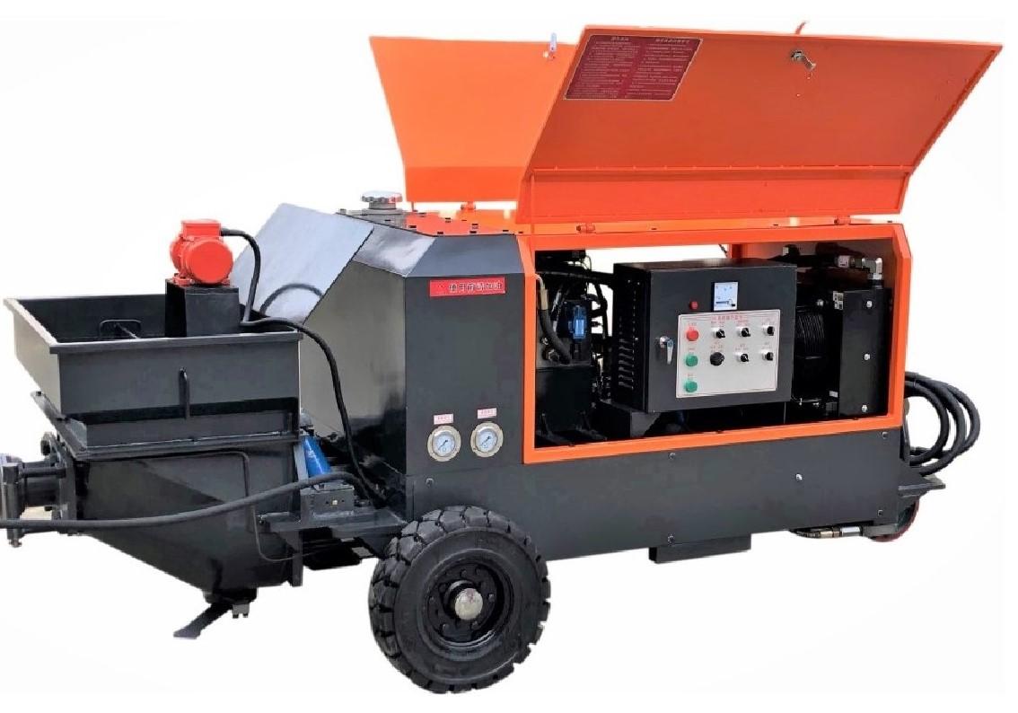 耐火材料噴涂機(鋼包噴補機)