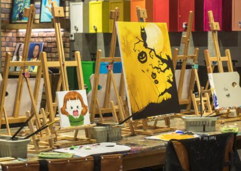 美术画室的群体意识也不失为一种学习的途径