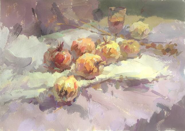 提高绘画水平的方法主要是看美术生的习惯