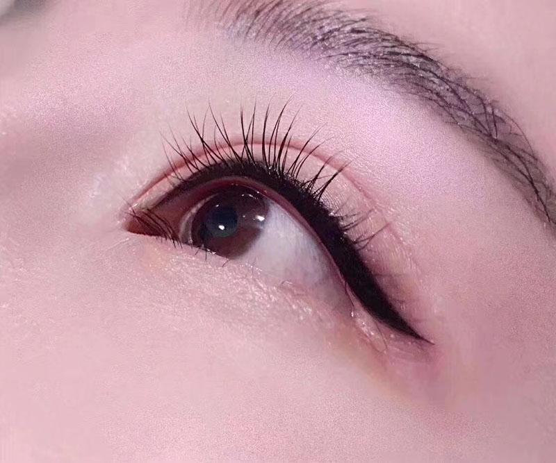 美睫作品之雙眼皮美女