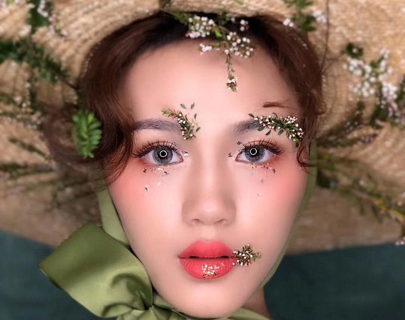 兰州化妆学校_作品赏析