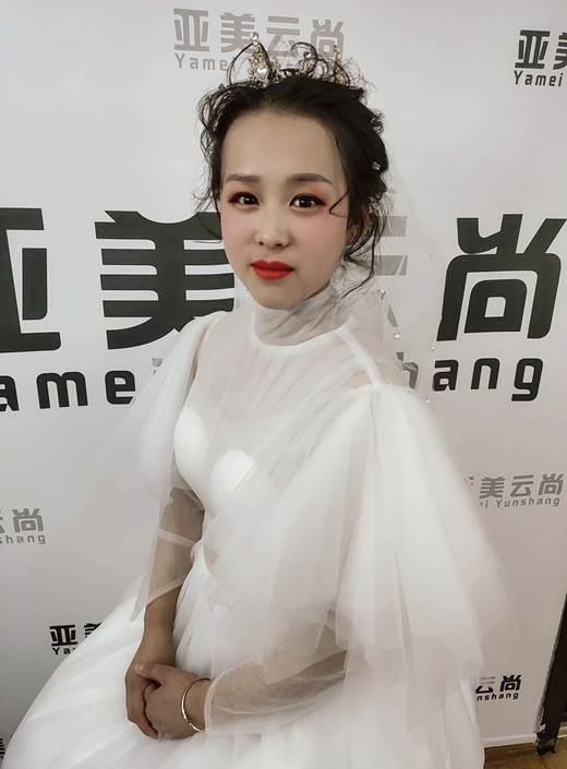 亚美云尚国际联盟教育化妆学员安成花学习感悟