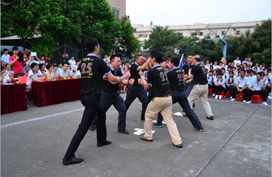 华鑫强固团队展示