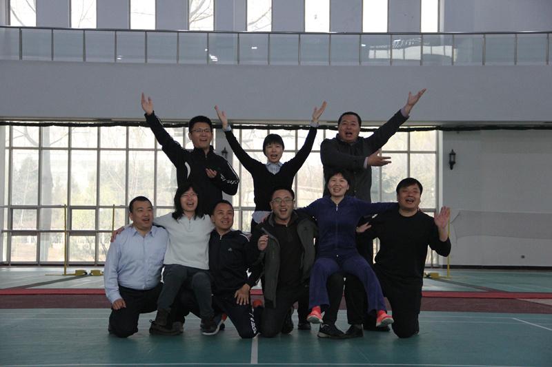 华鑫强固团队风采