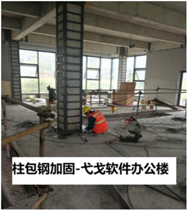 弋戈软件办公楼加固改造工程