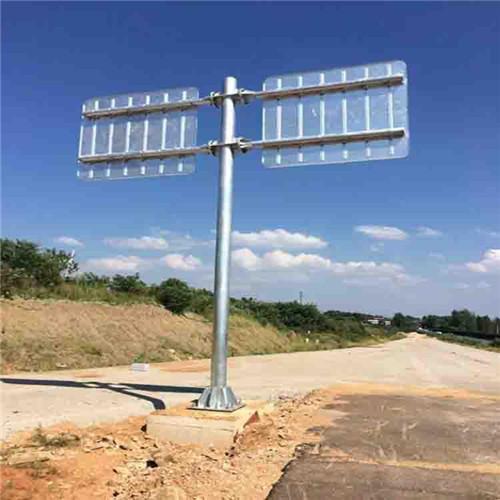 道路标志杆案例