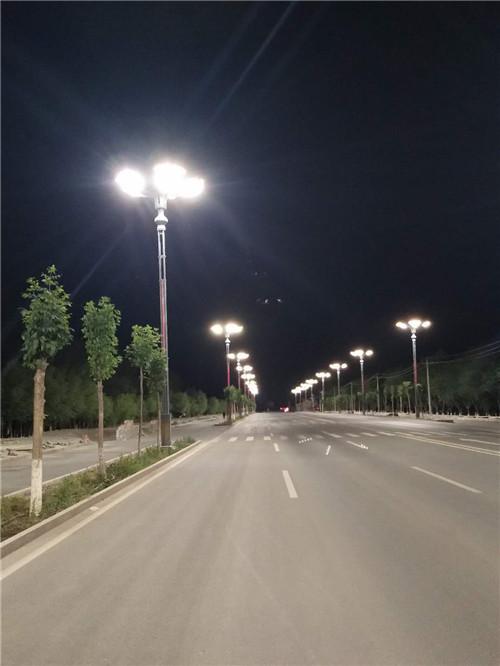 新疆路灯杆案例