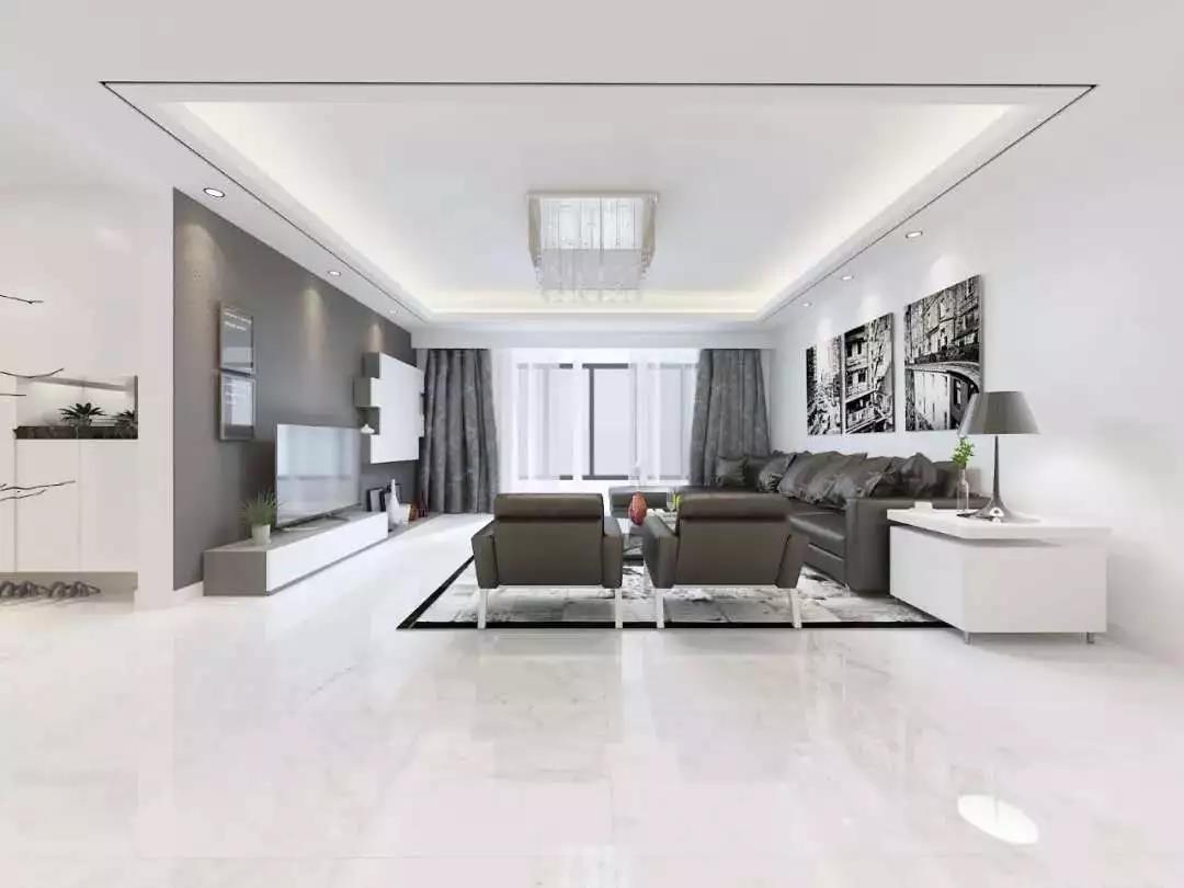 客厅地板瓷砖