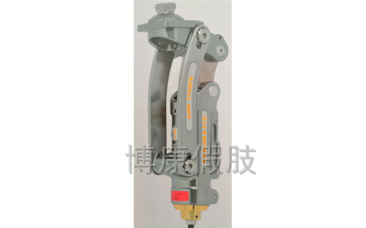TK4P72 alloy self-supporting self-locking pneumatic knee joint