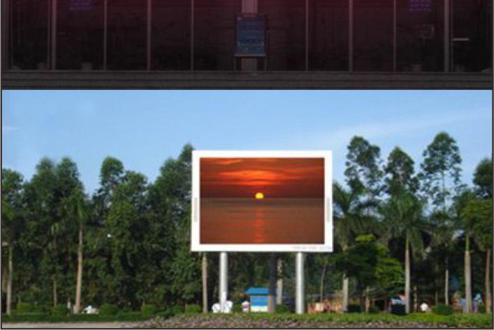 在户外进行绵阳led显示屏安装时有四大环节