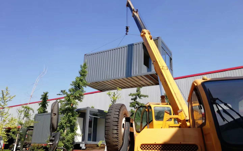 成都集装箱住宅厂区环境