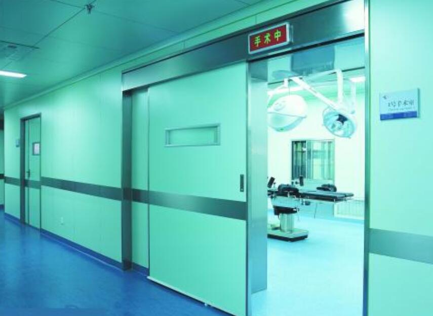 西安医院专用门医院门门框安装过程的步骤详解