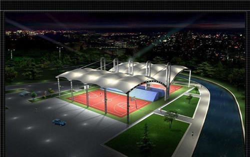 膜结构网球场效果图展示!