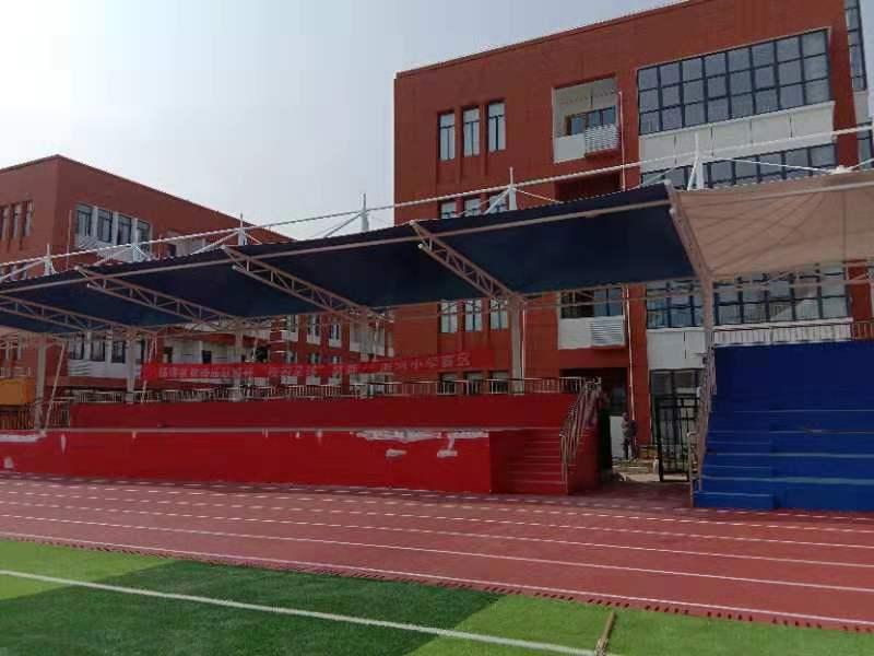 陕西学校看台安装